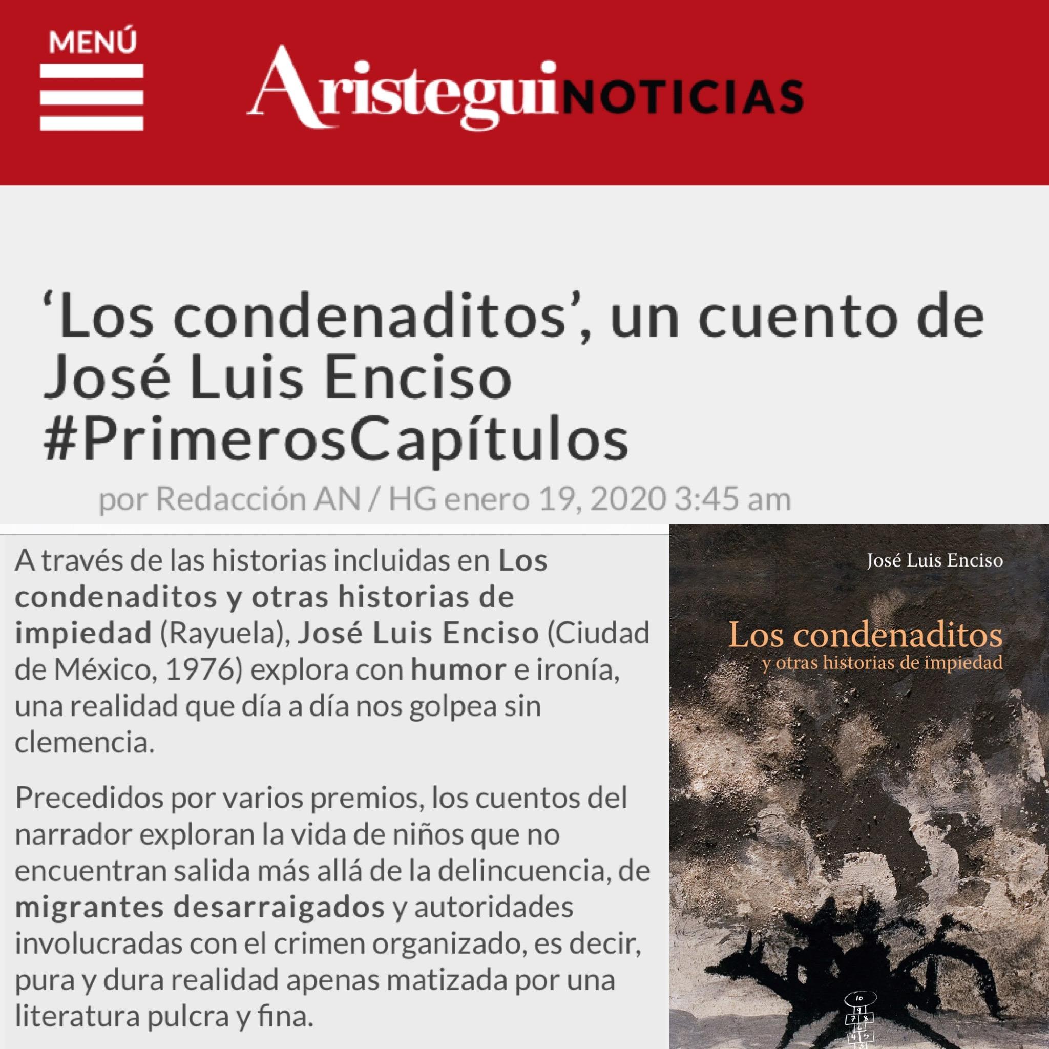 José Luis Enciso en Aristegui